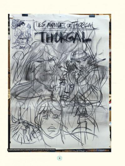 Page 3 les mondes de Thorgal ; aux origines des mondes