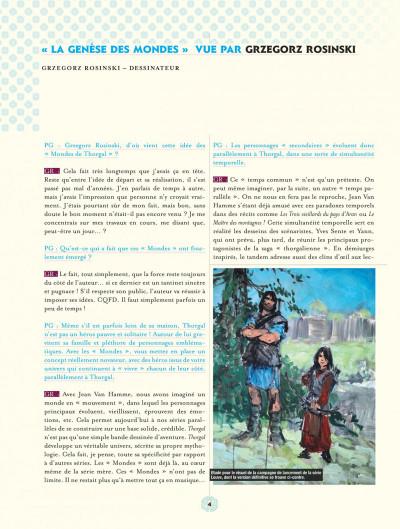 Page 4 les mondes de Thorgal ; aux origines des mondes