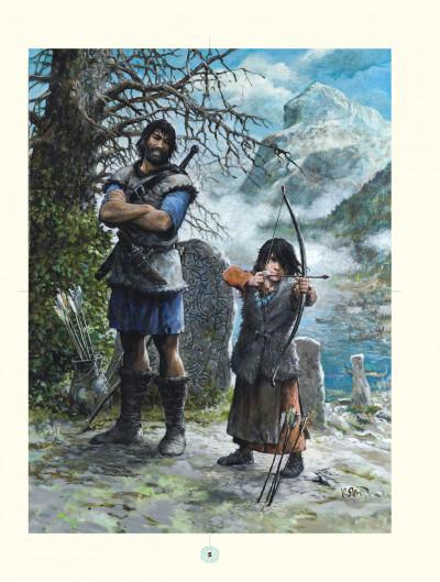 Page 5 les mondes de Thorgal ; aux origines des mondes