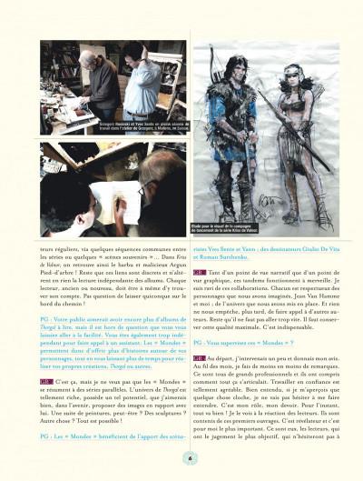 Page 6 les mondes de Thorgal ; aux origines des mondes