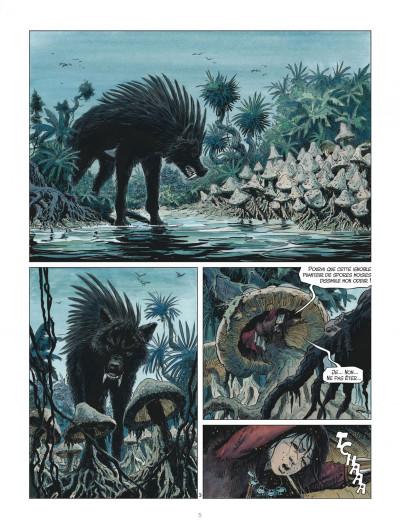 Page 5 Les mondes de Thorgal - Louve tome 3