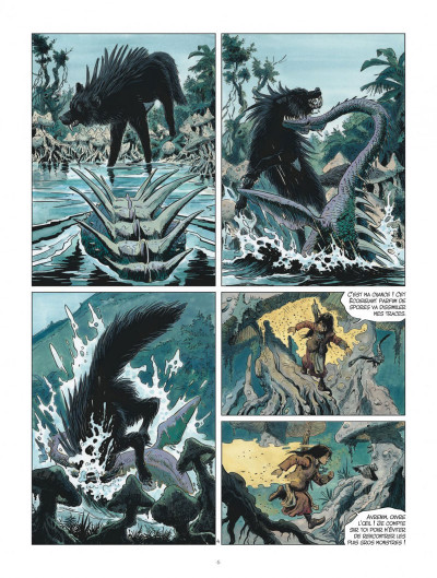 Page 6 Les mondes de Thorgal - Louve tome 3