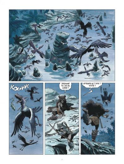 Page 7 Les mondes de Thorgal - Louve tome 3