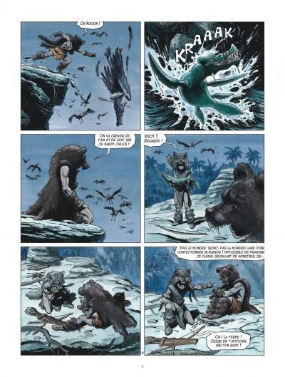 Page 8 Les mondes de Thorgal - Louve tome 3