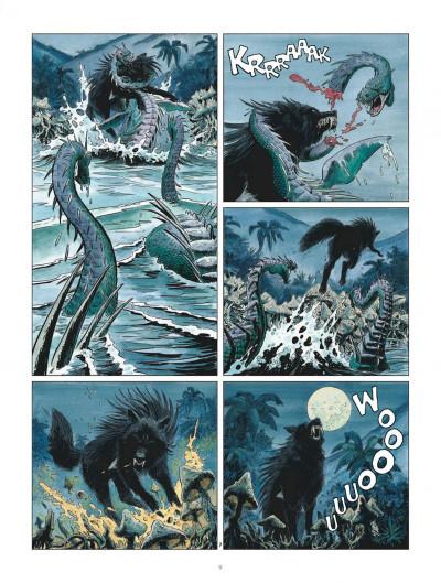 Page 9 Les mondes de Thorgal - Louve tome 3