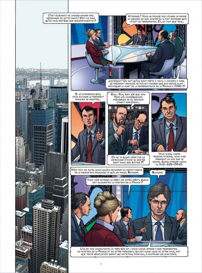 Page 3 Sisco tome 6 - négociations en 9 mm