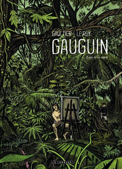Couverture Gauguin - loin de la route