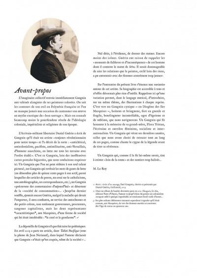 Page 3 Gauguin - loin de la route