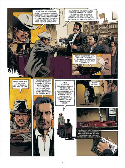 Page 4 John Tiffany tome 1 - le secret du bonheur