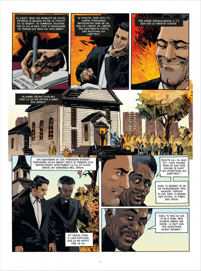 Page 5 John Tiffany tome 1 - le secret du bonheur