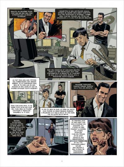 Page 6 John Tiffany tome 1 - le secret du bonheur