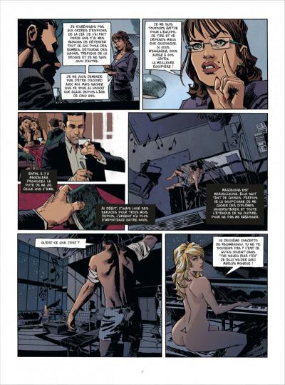 Page 7 John Tiffany tome 1 - le secret du bonheur