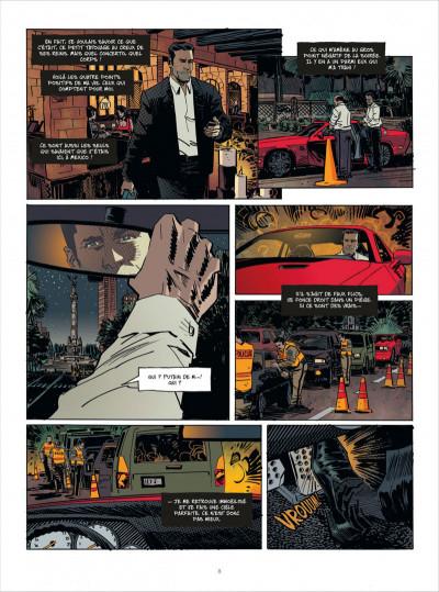 Page 8 John Tiffany tome 1 - le secret du bonheur