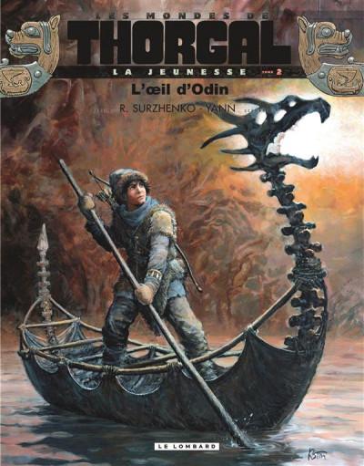 Couverture Les mondes de Thorgal - la jeunesse de Thorgal tome 2 - L'œil d'Odin