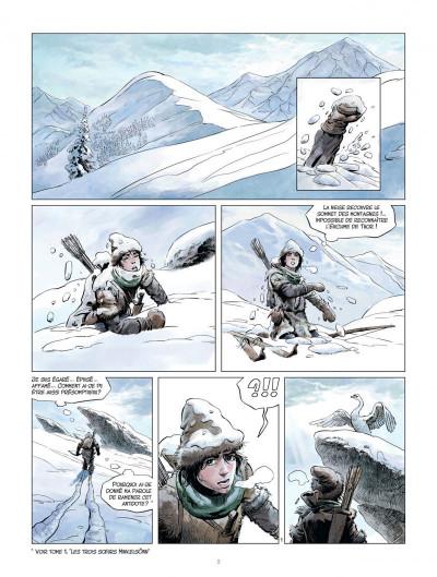 Page 2 Les mondes de Thorgal - la jeunesse de Thorgal tome 2 - L'œil d'Odin