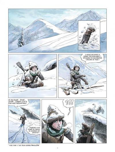 Page 3 Les mondes de Thorgal - la jeunesse de Thorgal tome 2 - L'œil d'Odin
