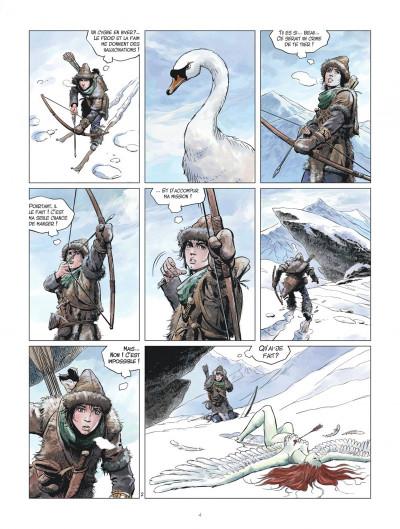 Page 4 Les mondes de Thorgal - la jeunesse de Thorgal tome 2 - L'œil d'Odin