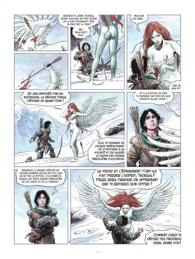 Page 5 Les mondes de Thorgal - la jeunesse de Thorgal tome 2 - L'œil d'Odin