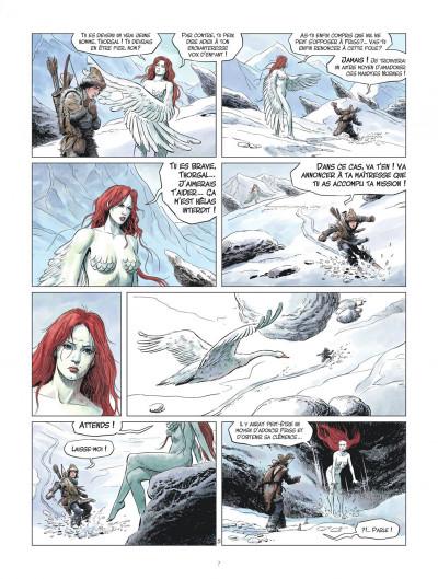 Page 7 Les mondes de Thorgal - la jeunesse de Thorgal tome 2 - L'œil d'Odin