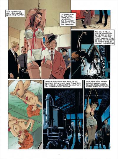 Page 3 miss Octobre tome 2 - la morte du mois