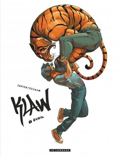 Couverture Klaw tome 1 - éveil
