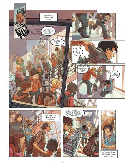 Page 3 klaw tome 1 - éveil