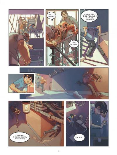 Page 4 Klaw tome 1 - éveil