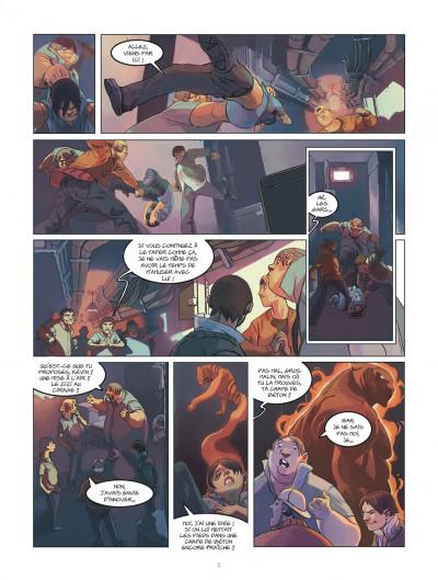 Page 5 klaw tome 1 - éveil