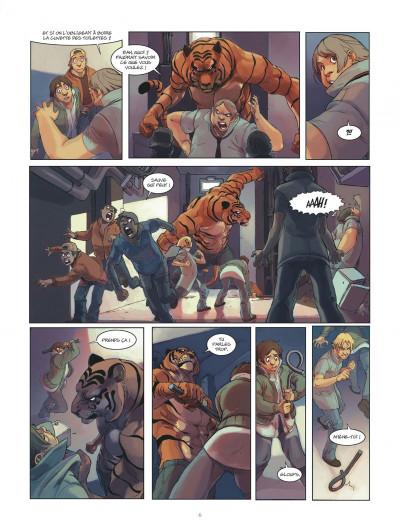 Page 6 klaw tome 1 - éveil