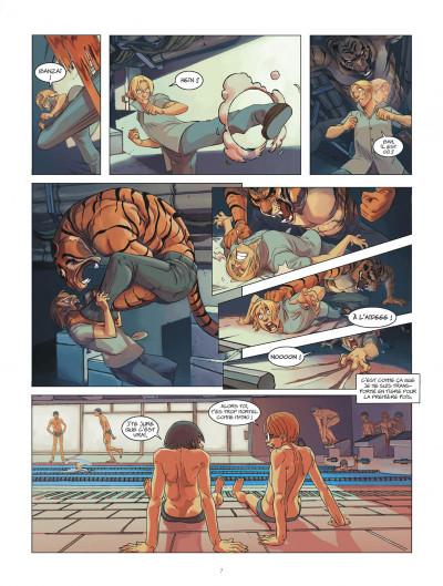 Page 7 klaw tome 1 - éveil