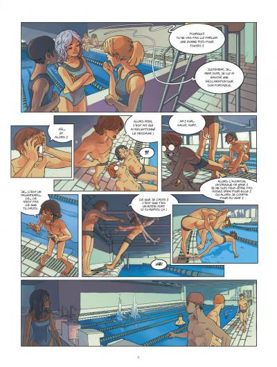 Page 9 klaw tome 1 - éveil