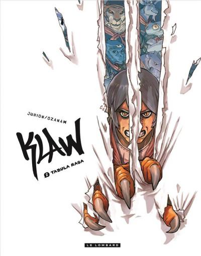 Couverture Klaw tome 2