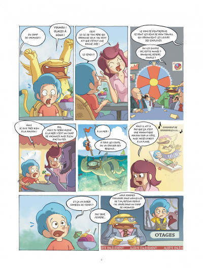 Page 4 mangetrouille tome 3 - coquillage, chocottes et clapotis