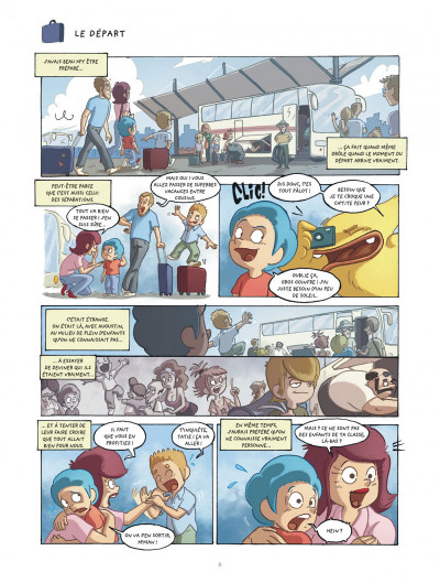 Page 6 mangetrouille tome 3 - coquillage, chocottes et clapotis