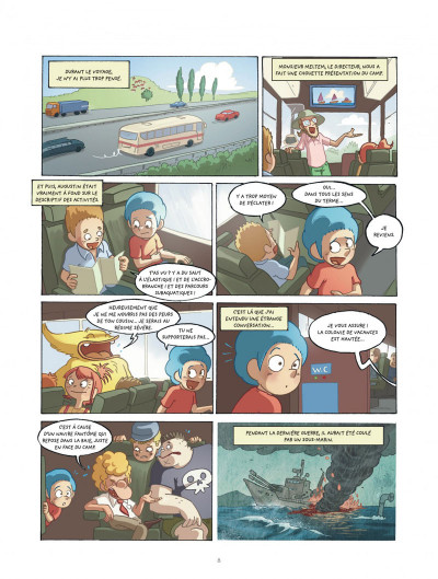 Page 8 mangetrouille tome 3 - coquillage, chocottes et clapotis