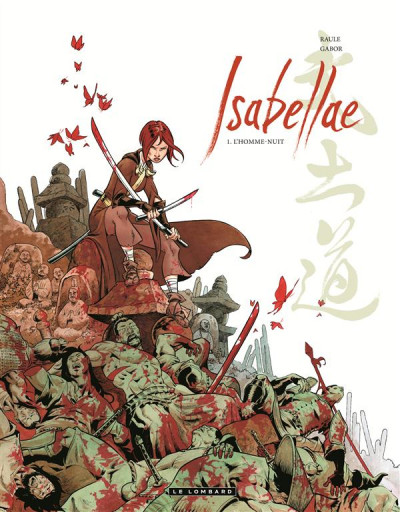Couverture Isabellae tome 1 - l'homme-nuit