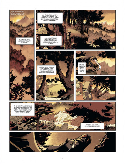 Page 3 Isabellae tome 1 - l'homme-nuit