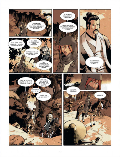 Page 4 Isabellae tome 1 - l'homme-nuit