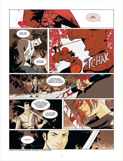 Page 8 Isabellae tome 1 - l'homme-nuit