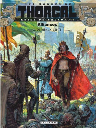Couverture Les mondes de Thorgal - Kriss de Valnor tome 4