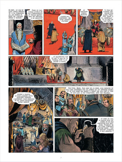 Page 7 Les mondes de Thorgal - Kriss de Valnor tome 4