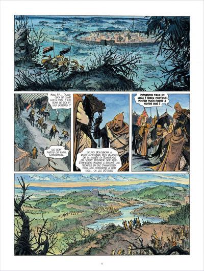 Page 9 Les mondes de Thorgal - Kriss de Valnor tome 4