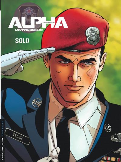 Couverture Alpha premières armes tome 2