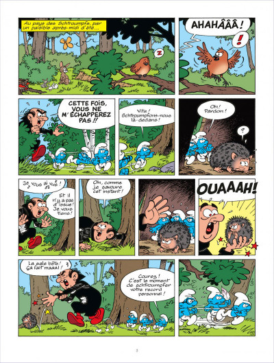 Page 2 Les schtroumpfs tome 31 - les schtroumpfs à Pilulit