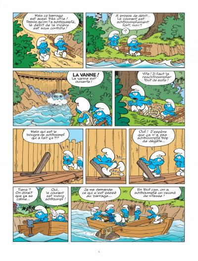 Page 9 Les schtroumpfs tome 31 - les schtroumpfs à Pilulit