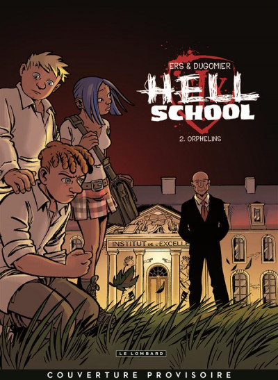 Couverture hell school tome 2 - orphelins
