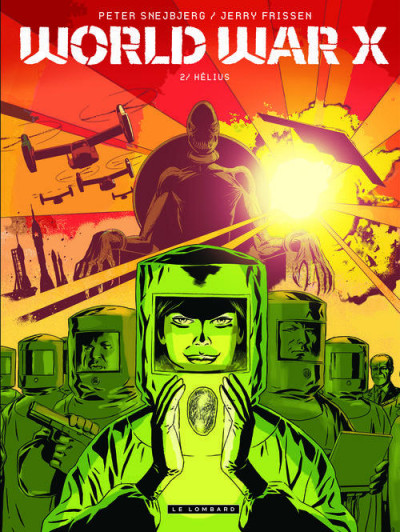Couverture world war X tome 2 - Kharis