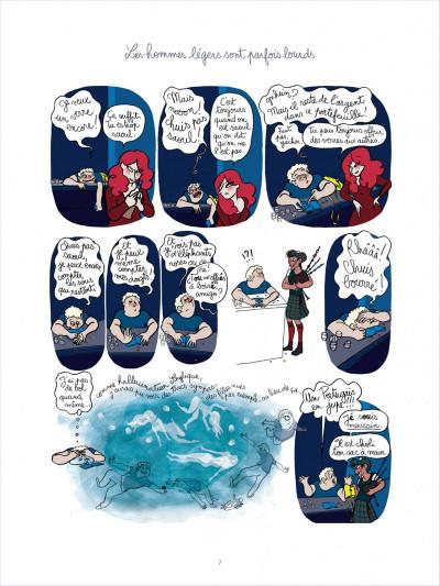 Page 7 Tea for two tome 2 - les hommes légers sont parfois lourds