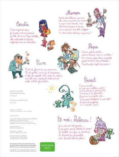 Page 1 Ernest et Rebecca tome 5 - l'école des bêtises