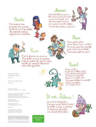 Page 2 Ernest et Rebecca tome 5 - l'école des bêtises